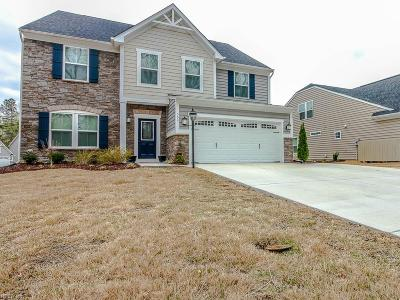 York County Single Family Home New Listing: 509 Caroline Cir