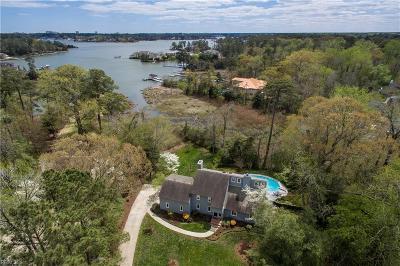Virginia Beach Single Family Home New Listing: 1613 Bohnhoff Dr