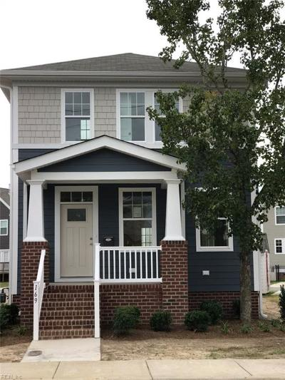 Suffolk Single Family Home Under Contract: 169 Hall Ave