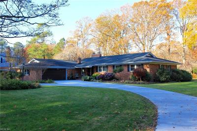 Virginia Beach Single Family Home New Listing: 1709 Five Forks Rd
