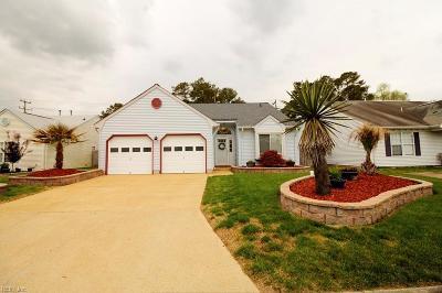 Virginia Beach Single Family Home New Listing: 2149 Bloomsbury Ln
