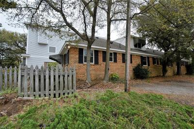 Virginia Beach Single Family Home New Listing: 8809 Atlantic Ave