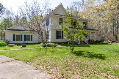 Chesapeake Single Family Home New Listing: 3913 Pine Grove Lndg