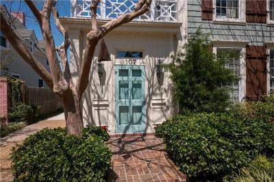 Chesapeake, Hampton, Norfolk, Portsmouth, Suffolk, Virginia Beach Single Family Home New Listing: 107 44th St