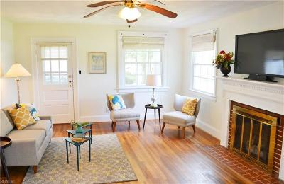 Portsmouth Single Family Home New Listing: 4405 Wake Forest Rd