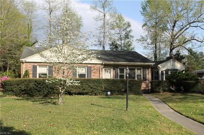 Suffolk Single Family Home New Listing: 418 N Broad St