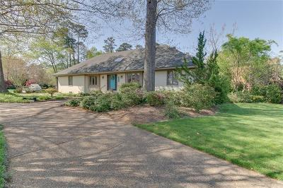 Virginia Beach Single Family Home New Listing: 2201 Haversham Cls