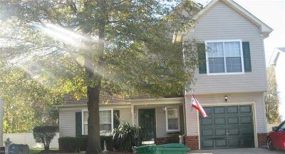 Chesapeake Single Family Home New Listing: 2304 Tawnyberry Ln