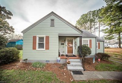 Chesapeake Single Family Home New Listing: 4108 Bernard St