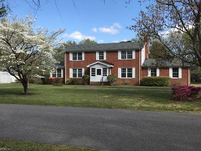 Virginia Beach Single Family Home New Listing: 4075 N Witchduck Rd
