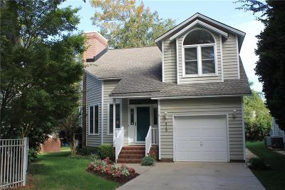 Virginia Beach Single Family Home New Listing: 415 48th St