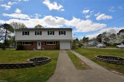 Virginia Beach VA Single Family Home New Listing: $289,000
