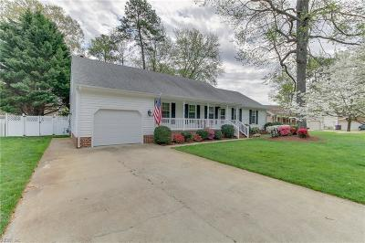 Chesapeake Single Family Home New Listing: 617 Emerald Ct