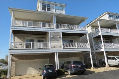 Norfolk Single Family Home New Listing: 2060 E Ocean View Ave #7B