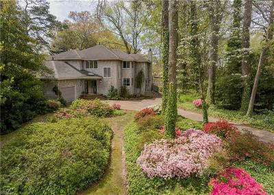 Virginia Beach Single Family Home New Listing: 4905 Athens Blvd