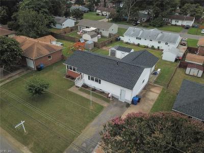 Virginia Beach VA Single Family Home New Listing: $225,000