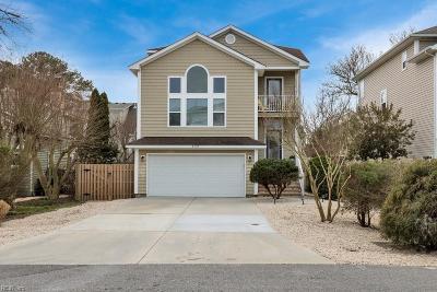 Virginia Beach Single Family Home New Listing: 4529 Coronet Ave