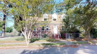 Portsmouth Single Family Home For Sale: 124 Armstrong St