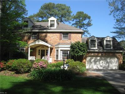Virginia Beach Single Family Home New Listing: 1296 Southfield Pl