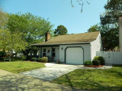 Virginia Beach VA Single Family Home New Listing: $268,000