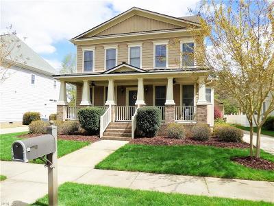 Chesapeake Single Family Home New Listing: 225 Wildlife Trace