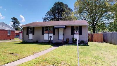Chesapeake Single Family Home New Listing: 2504 Border Rd