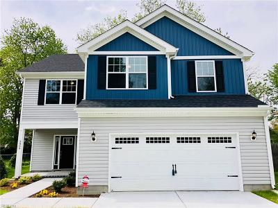 Norfolk Single Family Home New Listing: 3722 Atterbury St