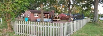 Virginia Beach Single Family Home New Listing: 700 Woodstock Rd