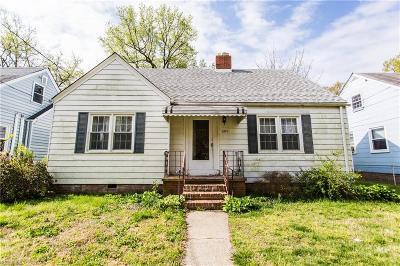 Norfolk Single Family Home New Listing: 405 E Lorengo Ave
