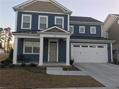 Virginia Beach Single Family Home New Listing: 1740 Stratton Dr #637