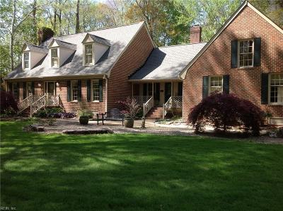 Chesapeake Single Family Home Under Contract: 508 Waterwheel Rd