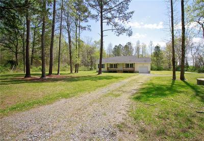 Gloucester Single Family Home New Listing: 3960 Cappahosic Rd