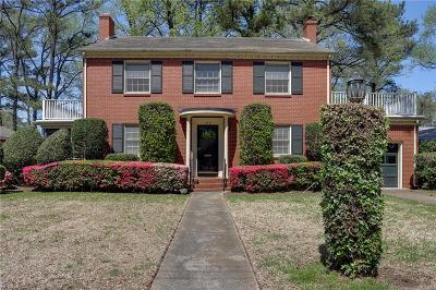 Norfolk Single Family Home New Listing: 449 Hariton Ct