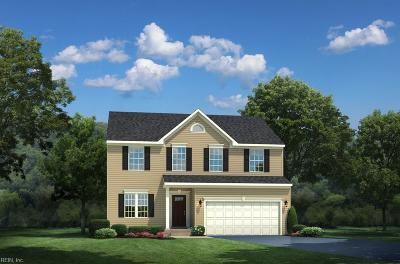 Newport News Single Family Home Under Contract: 206 Starling Cir