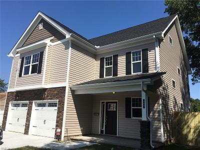 Norfolk Single Family Home New Listing: 5036 Krick St