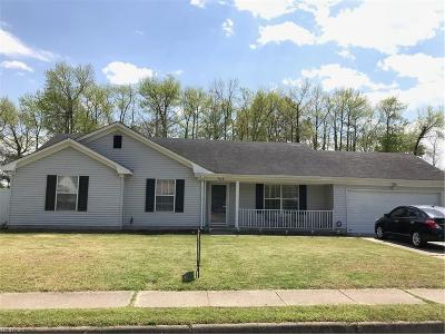 Virginia Beach Single Family Home New Listing: 708 Lawrence Dr