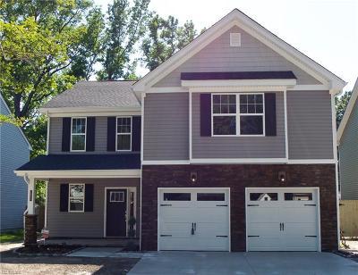 Norfolk Single Family Home New Listing: 2705 Keller Ave