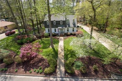 Virginia Beach Single Family Home New Listing: 2452 Entrada Dr