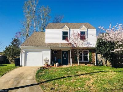 Virginia Beach Single Family Home New Listing: 3453 Landstown Ct