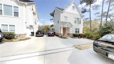 Virginia Beach Single Family Home New Listing: 701 26th St #B