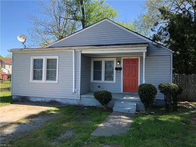 Portsmouth Single Family Home New Listing: 2003 Columbus Avenue Ave