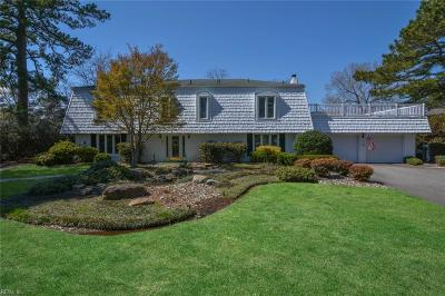 Virginia Beach Single Family Home New Listing: 1209 Witchduck Bay Ct