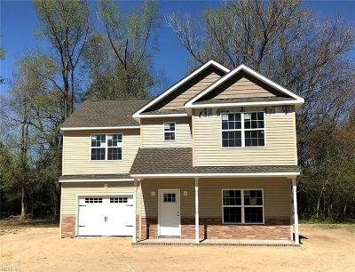 Suffolk Single Family Home New Listing: 112 Herman Ct