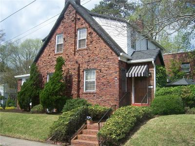 Norfolk VA Single Family Home New Listing: $395,000