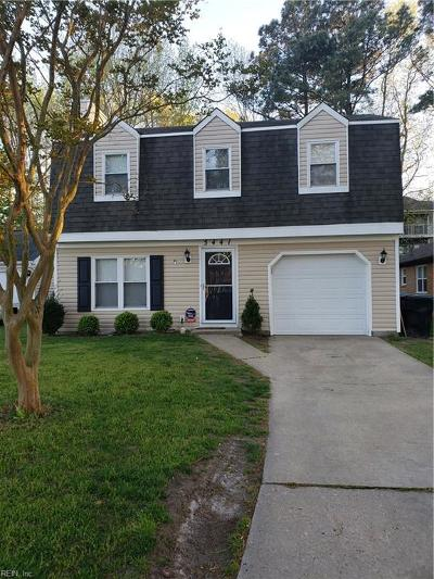 Virginia Beach Single Family Home New Listing: 5441 Davis Way
