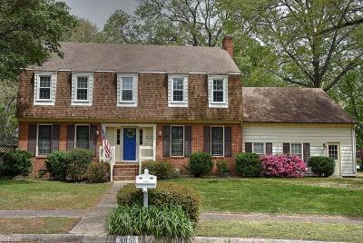 Virginia Beach Single Family Home New Listing: 4856 Admiration Dr