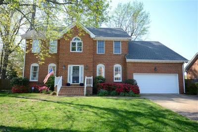 Virginia Beach Single Family Home New Listing: 1921 Grey Friars Chase