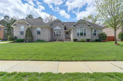 Chesapeake Single Family Home New Listing: 849 Redleafe Cir
