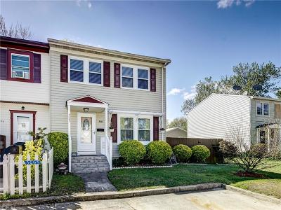 Virginia Beach Single Family Home New Listing: 3067 Bosco Ct