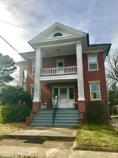 Norfolk VA Single Family Home New Listing: $349,000